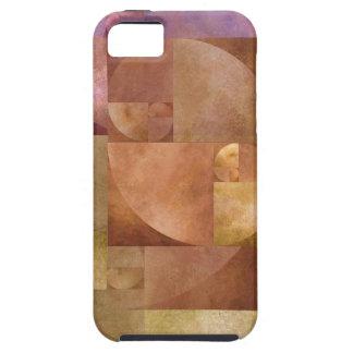 Golden Ratio, Fibonacci Spiral iPhone SE/5/5s Case