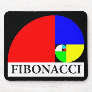 Golden Ratio Fibonacci Spiral Mousepad