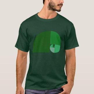 Golden Ratio, Fibonacci Spiral T-Shirt