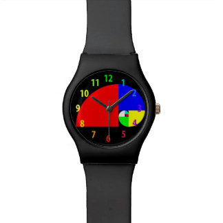 Golden Ratio, Fibonacci Spiral Wrist Watches