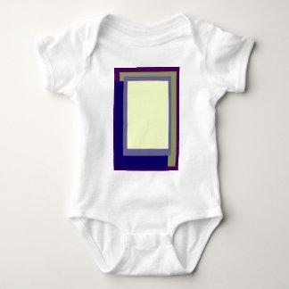 Golden Ratio Grape Olive Blocks Baby Bodysuit