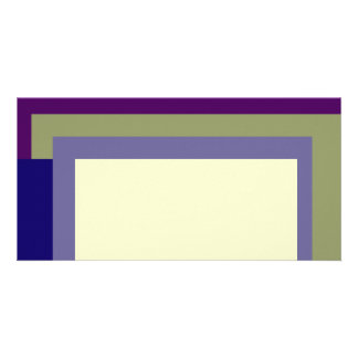 Golden Ratio Grape Olive Blocks Photo Card Template