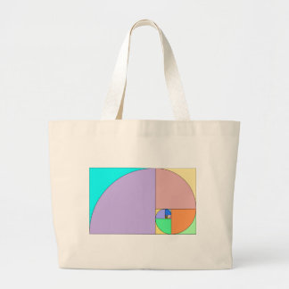 Golden Ratio Large Tote Bag