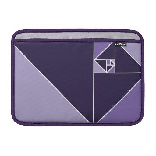 Golden Ratio (Purple) MacBook Sleeves