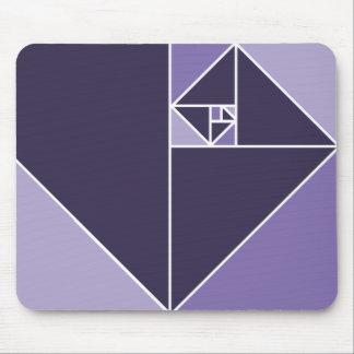 Golden Ratio (Purple) Mouse Pad