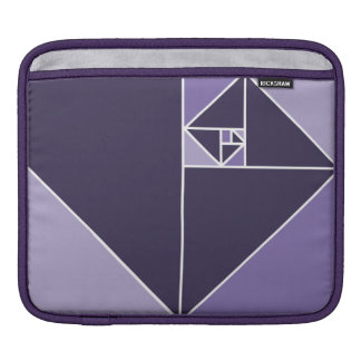 Golden Ratio (Purple) Sleeve For iPads
