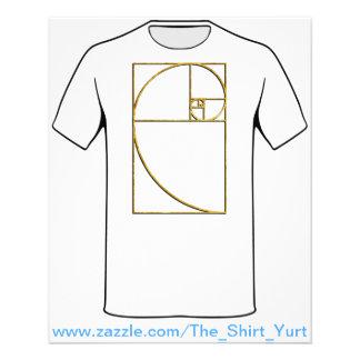 Golden Ratio Sacred Fibonacci Spiral Flyer