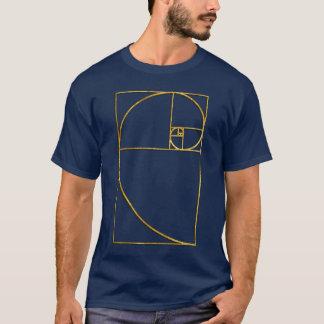 Golden Ratio Sacred Fibonacci Spiral T-Shirt