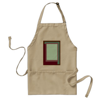 Golden Ratio Sea Rouge Blocks Adult Apron