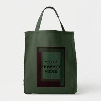Golden Ratio Sea Rouge Blocks Canvas Bags