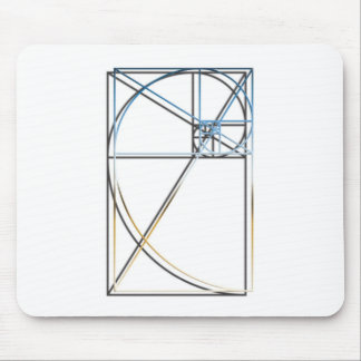 Golden Ratio Shadow Mouse Pad