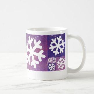Golden Ratio Snowflake Classic White Coffee Mug