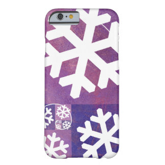 Golden Ratio Snowflakes Barely There iPhone 6 Case