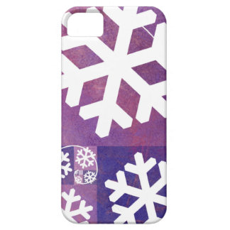 Golden Ratio Snowflakes iPhone SE/5/5s Case