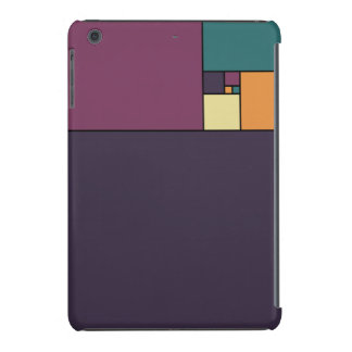 Golden Ratio Squares iPad Mini Retina Cover