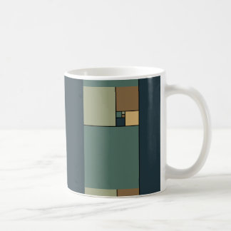 Golden Ratio Squares (Neutrals) Coffee Mug