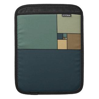 Golden Ratio Squares (Neutrals) iPad Sleeve