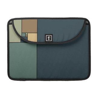 Golden Ratio Squares (Neutrals) MacBook Pro Sleeves