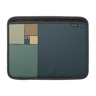 Golden Ratio Squares (Neutrals) MacBook Sleeves