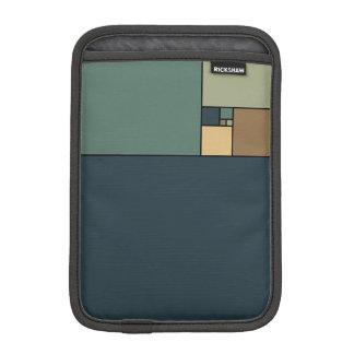 Golden Ratio Squares (Neutrals) Sleeve For iPad Mini