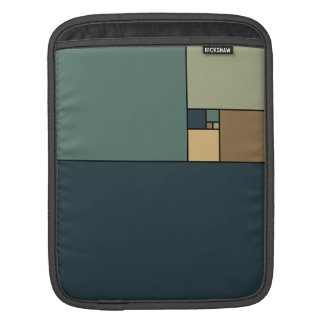 Golden Ratio Squares (Neutrals) Sleeve For iPads