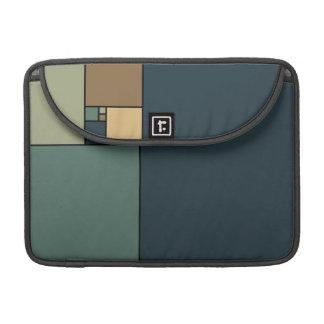 Golden Ratio Squares (Neutrals) Sleeve For MacBooks