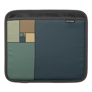 Golden Ratio Squares (Neutrals) Sleeves For iPads