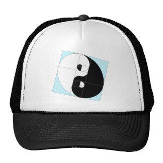 Golden Ratio Yin Yang Trucker Hat