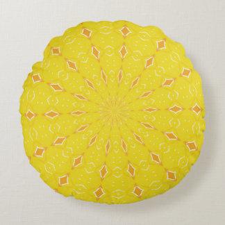 Golden Rays Digital Design Pillow