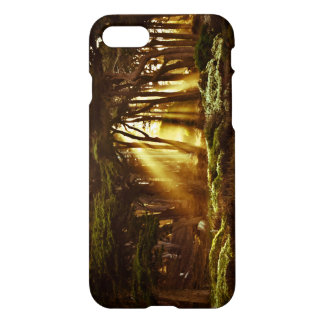 Golden Rays of Light iPhone 8/7 Case