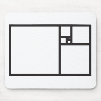 Golden Rectangle Mouse Pad