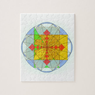 Golden rectangle shapes jigsaw puzzle