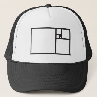 Golden Rectangle Trucker Hat