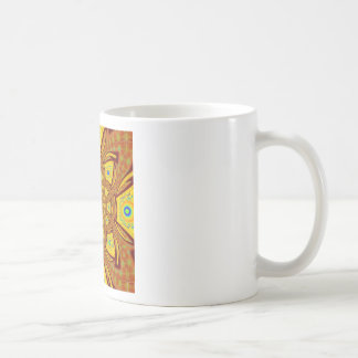 Golden Red African Asian traditional colors Coffee Mug