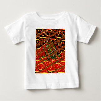 Golden red African Traditional Color.png Baby T-Shirt