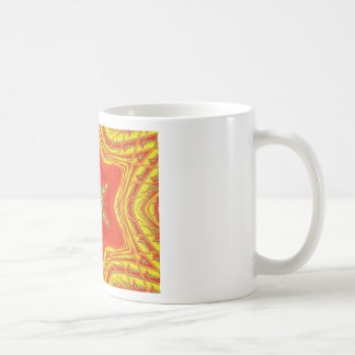Golden red African Traditional colors Coffee Mug