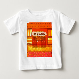 Golden Red African Traditional Colors Funny Am bor Baby T-Shirt
