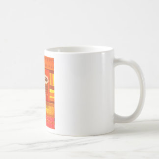 Golden Red African Traditional Colors Funny Am bor Coffee Mug