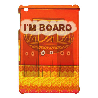 Golden Red African Traditional Colors Funny Am bor Cover For The iPad Mini