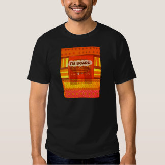 Golden Red African Traditional Colors Funny Am bor T Shirt