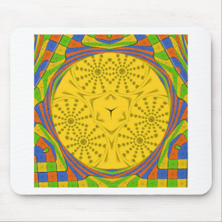 Golden Red Blue Green Royal Egyptian. Mouse Pad
