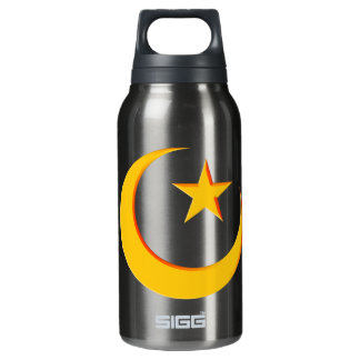 GOLDEN RED CRESCENT 3D INSULATED WATER BOTTLE