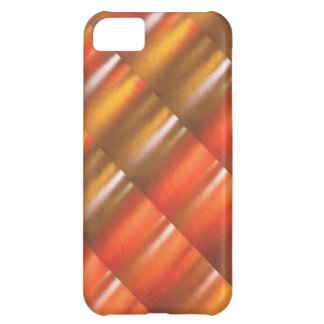 Golden Red Sparkle Shades - ColorCraft Case For iPhone 5C