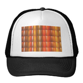 Golden Red Sparkle Shades - ColorCraft Mesh Hat