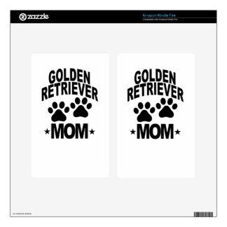 GOLDEN RETIEVER MOM DOG.png Kindle Fire Skin