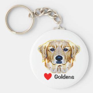 Golden Retirever Keychain