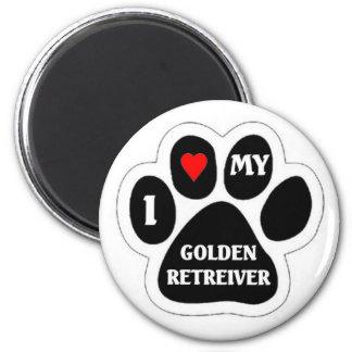 Golden Retreiver Magnet