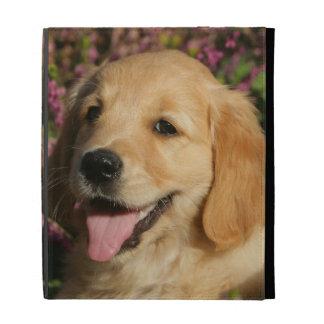 Golden Retreiver Puppy iPad Folio Cover