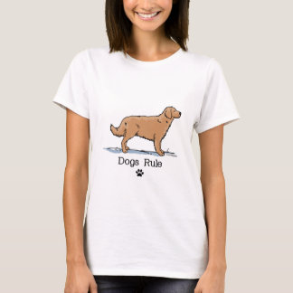 Golden Retreiver - Red T-Shirt