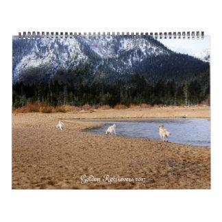 Golden Retreivers 2017 Calendar